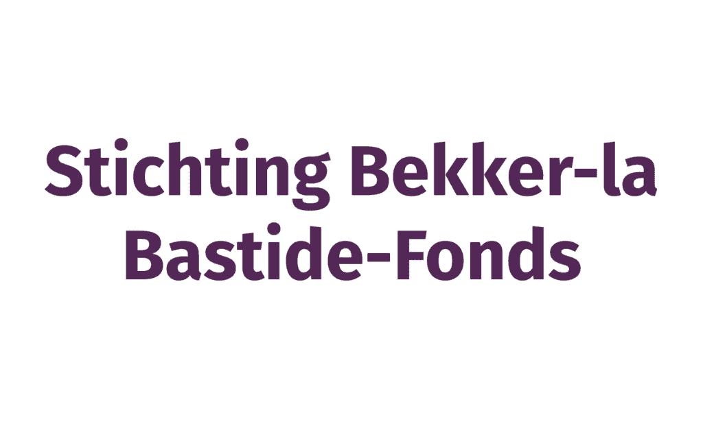 Stichting Bekker-la Bastide-Fonds