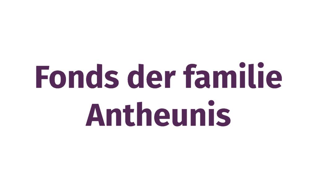 Fonds der familie Antheunis