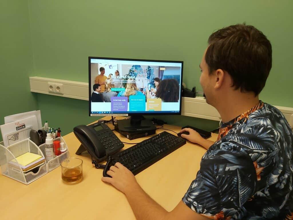 Vacature vrijwilligerswerk webmaster en teksten